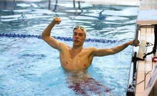 Kaspar Helde ujus võimsa Eesti rekordi