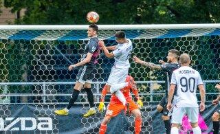 Liliu 91. minuti värav viis Nõmme Kalju Põhja-Makedoonia meisterklubi ees Meistrite Liiga teise ringi