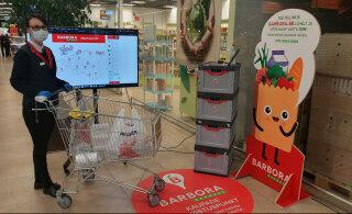 Barbora и Maxima запускают совместную услугу бесконтактных покупок в 17 городах Эстонии