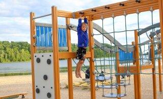 Eesti 35 rannaäärset mänguväljakut, kuhu soojal nädalavahetusel koos lastega minna!