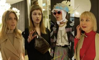 ВИДЕО: Пластиковые пакеты и сумки за тысячу евро. Самые дорогие и дешевые наряды зрителей недели моды в Тарту