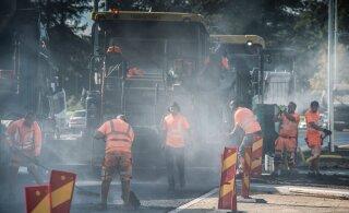 Eesti tee-ehitajatel hakkab asfalt otsa saama
