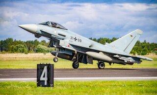 Liitlaste lennukid harjutavad järelpõletiga õhkutõusmist