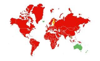 Euroopa riikidest ainult Islandilt tulles ei pea järgmisel nädalal oma tervist tõendama
