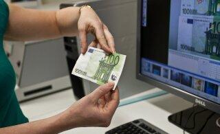 Что случилось? В Эстонии сократилось число фальшивых денег в обороте