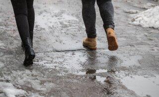 Lähipäevadel ilusa talveilma naasmist loota ei ole