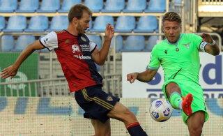 Klavan ei suutnud Cagliarit kaotusest päästa