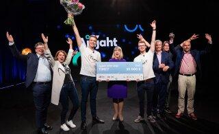 Ajujaht 2019 võitja selgunud - TTÜ keemiatudengite loodud Timey!