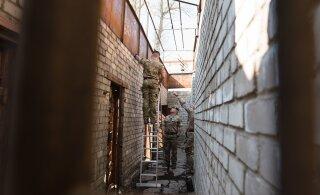 FOTOD | Briti sõdurid käisid korrastamas Patarei vangla tulevast näituseala