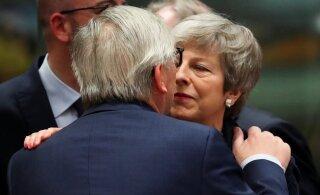 Euroopa liidrid ähvardasid Mayd karmi Brexitiga