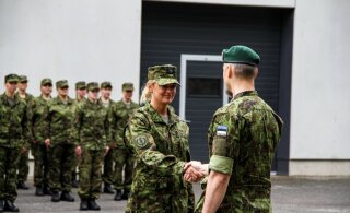 FOTOD | Kaitseväe akadeemias lõppes staabiohvitseride sõjaline baaskursus