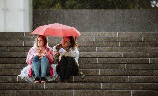 Uuel nädalal kallab iga päev vihma