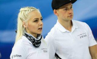 Эстонские керлингисты в четвертьфинале чемпионата мира!