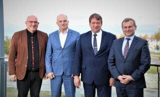 Мэр Маарду, старейшины Ласнамяэ и Пыхья-Таллинна встретились с послом Беларуси