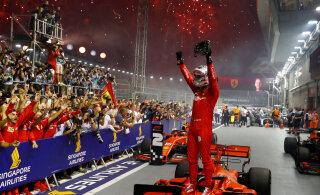 BLOGI | Singapuri GP: Pika ootuse lõpetanud Vettel sai hooaja esimese võidu, Mercedesed esikolmikust väljas