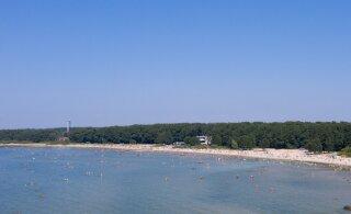 Смотрите, как на выходных прогрелась вода на городских пляжах в Таллинне