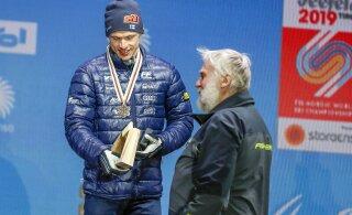 Легендарный финский спортсмен получил неожиданный подарок от Елены Вяльбе