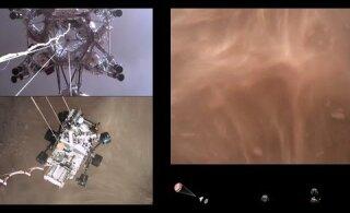 ВИДЕО | NASA опубликовало видео посадки ровера Perseverance на Марс