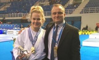 Eesti parim naisjudoka võitis Ateenas Euroopa karikaetapi