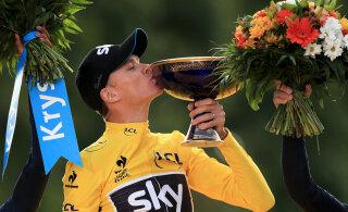 Neljakordsest Tour de France´i võitjast saab Räime ja Vahtra tiimikaaslane