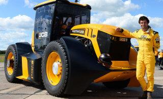 VIDEO   Vaata, kuidas kihutab värskelt tiitli välja teeninud maailma kiireim traktor