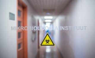 За сутки в Эстонии не выявили случаи заражения коронавирусом