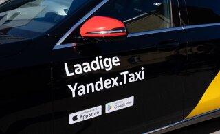 Представитель Yandex.Taxi Eesti рекламирует себя лукавым образом