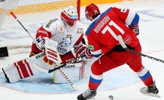 Сборная России вырвала победу у Чехии в серии буллитов