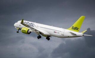 AirBaltic lubab tühja kõrvalistet, reisijad olid lennul siiski võõraste inimestega kõrvuti