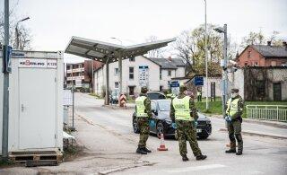Правительство упрощает пересечение границы с Латвией, Литвой и Финляндией