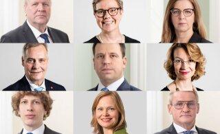 ФОТО | Сравните официальные портреты министров Финляндии и Эстонии. Почему у наших лица, как на похоронах?
