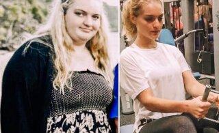 FOTOD | Pool oma kehakaalust kaotanud neiu avaldab, milline lihtne nõks aitas tal ideaalkaaluni jõuda