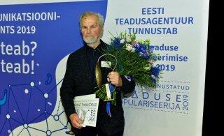 Eesti teaduse populariseerimise elutööpreemia pälvis Ain Kallis