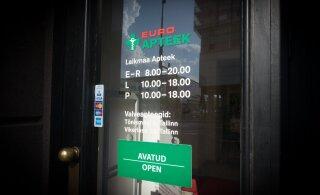 Euroapteek sulgeb Viljandis apteegi