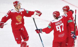 KHLi palgaedetabelit juhib Venemaa ründetäht, soomlane jagab kolmandat kohta
