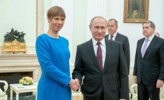 Эстония заявила о готовности к возможному приезду Путина в Тарту