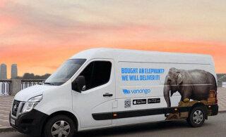 В Эстонии появился инновационный сервис доставки VanOnGo