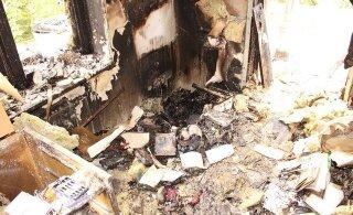 ФОТО: Аккумулятор электрического велосипеда устроил пожар в жилом доме