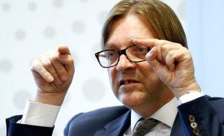 Guy Verhofstadti pressiesindaja: kirja Ratasele palusid Keskerakonna liikmed