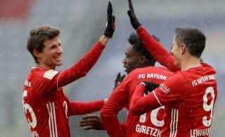 Müncheni Bayern lõpetas kaotusteseeria