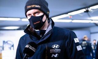 Tänak andis WRC reporteri küsimusele rehvistrateegia kohta kohta kavala vastuse