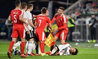 Сборная Германии снова разочаровала своих болельщиков