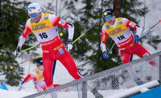 ВИДЕО: Один против пятерых. Норвежцы оставили Большунова без медали