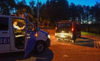 ФОТО: В Вильянди алководитель пытался скрыться от полиции