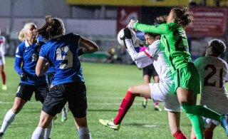 Футболистки сборной Эстонии огорчили своих поклонников