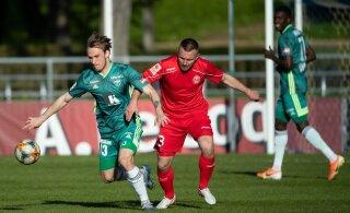 Поединок чемпионата Эстонии по футболу впервые покажут за рубежом