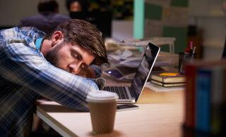 Unevõlg ja öötöö - mida selline eluviis kehaga teeb?