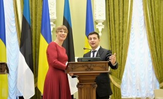 Ukraina president Volodõmõr Zelenskõi tuleb uuel nädalal Eestisse