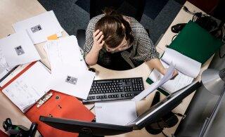 ИССЛЕДОВАНИЕ | В Эстонии женщины чаще устают на работе, чем мужчины