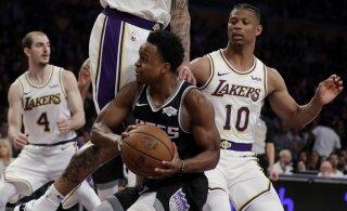 VIDEO | Ekskalevlane tegi Los Angeles Lakersi eest debüüdi